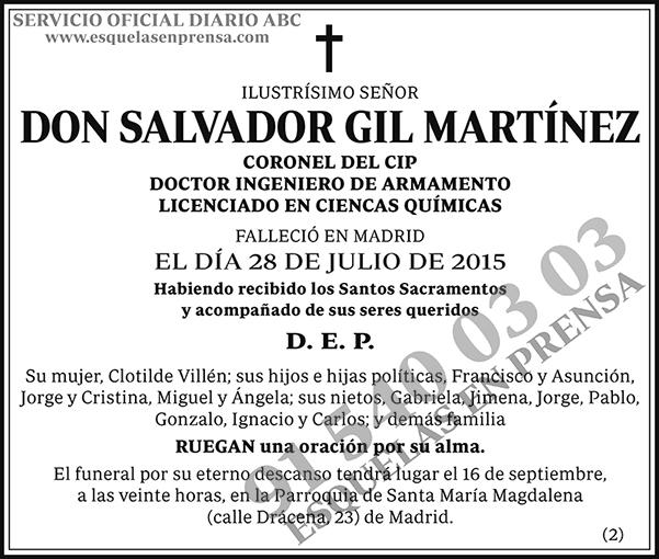 Salvador Gil Martínez